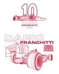Dario Franchitti Driver Tee 2010