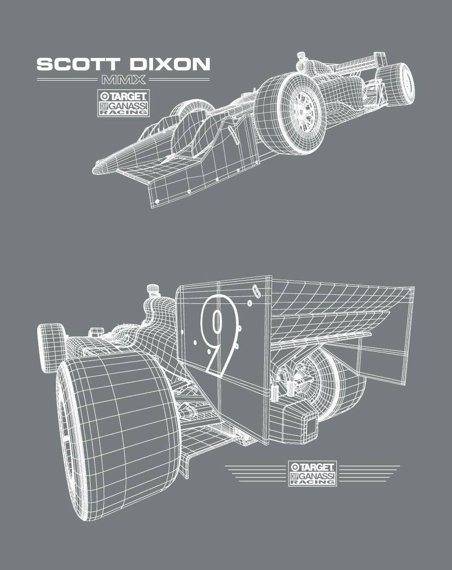 Scott Dixon Driver Tee 2010